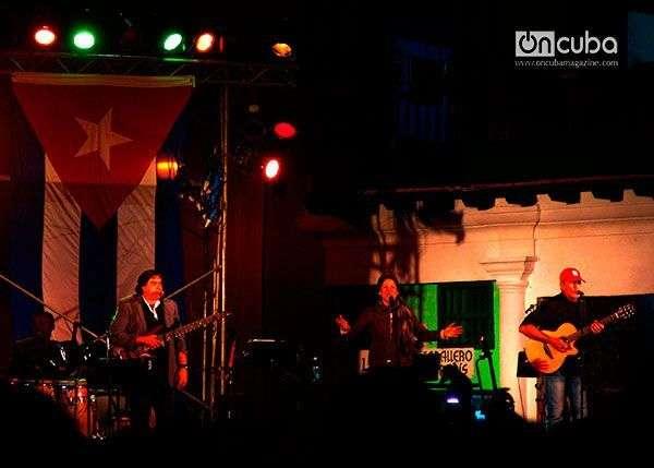 La cantante cubana Ivette  Cepeda estuvo entre las invitadas al Concierto.