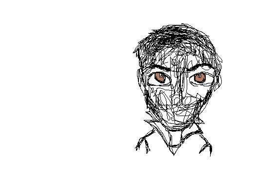 Aproximación a mi recuerdo del rostro de Pablo.
